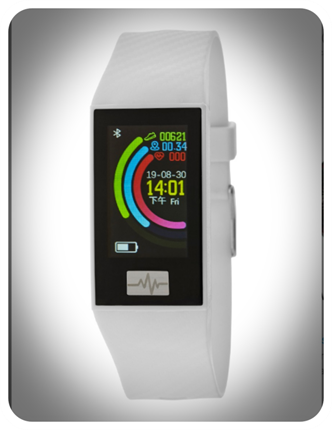 SmartWatch Marea rectangular blanco