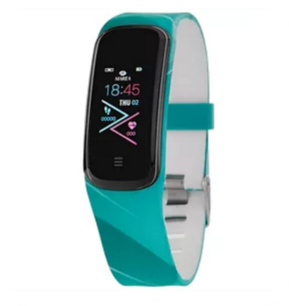 SmartWatch Marea rectangular turquesa Loop