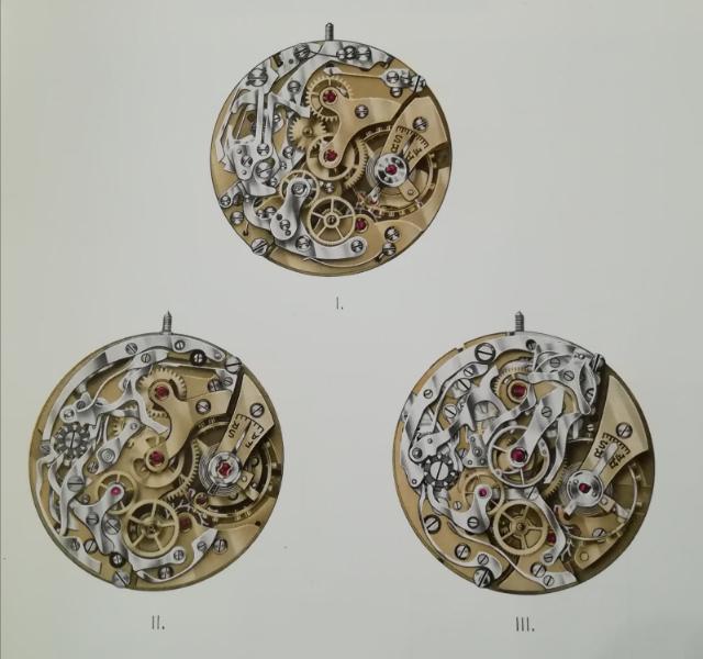Mecanismos cronógrafos